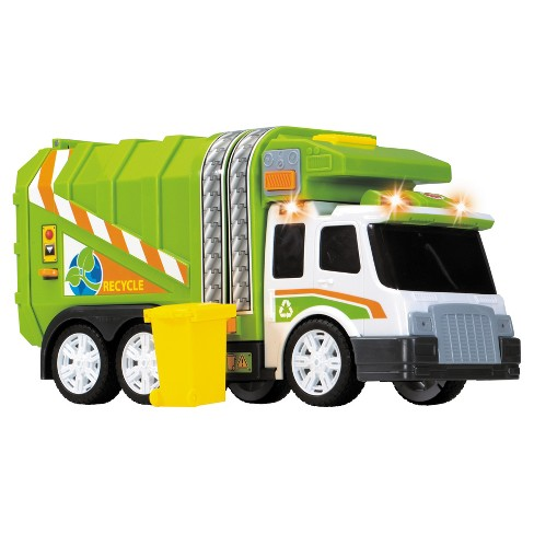 Dickie Toys - Large Action Garbage Truck Vehicle - image 1 of 8