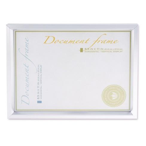 Universal Plastic Document Frame For 8 12 X 11 Easel Back