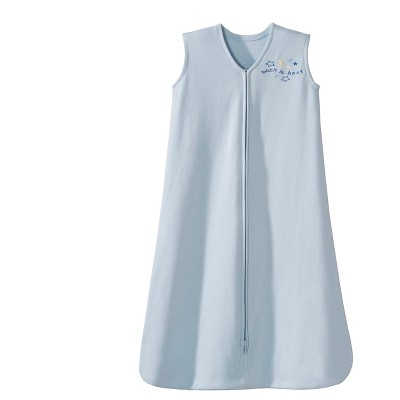 HALO® Sleepsack® 100% Cotton Wearable Blanket - Baby Blue - L