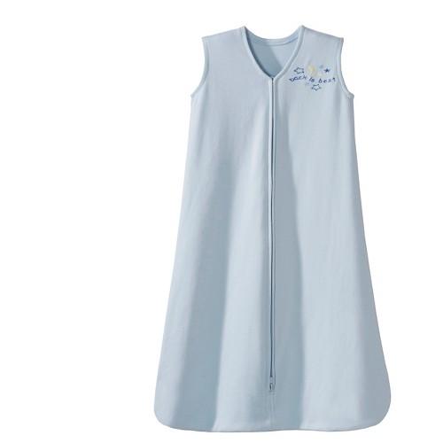 HALO Innovations Sleepsack 100% Cotton Wearable Blanket - Blue L, Infant Unisex, Size: Large