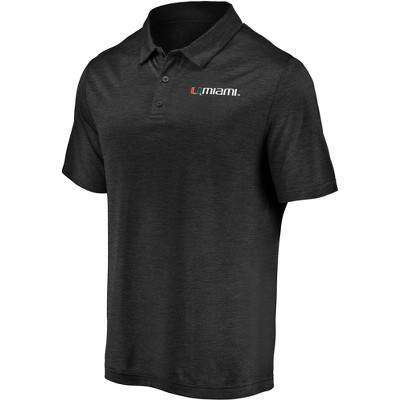 NCAA Miami Hurricanes Men's Polo Shirt
