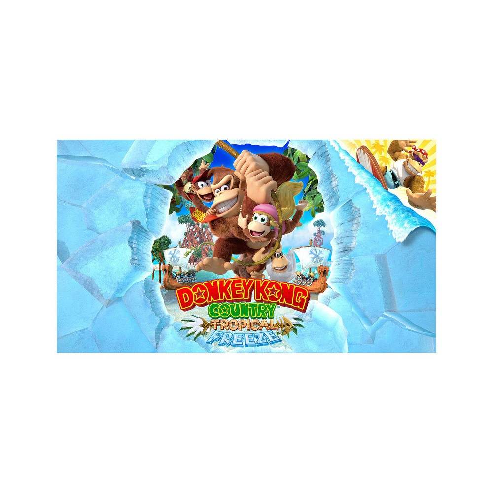Donkey Kong Country: Tropical Freeze - Nintendo Switch (Digital)