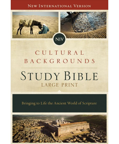 NIV Cultural Backgrounds Study Bible : New International Version: Bringing to Life the Ancient World of - image 1 of 1