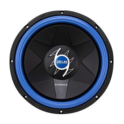 Hifonics ZG10D4 Zeus Gamma 10 Inch 600 Watt Power Max Dual Voice Coil Mobile Car Audio Subwoofer, Black
