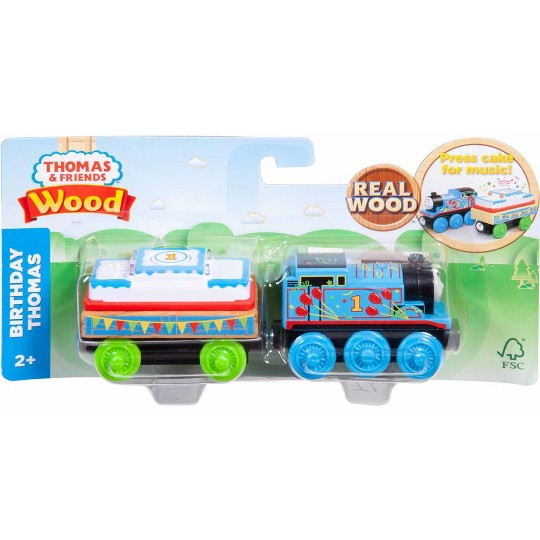 Fisher-Price Thomas & Friends - Birthday Thomas the Tank Engine - Wood image number null
