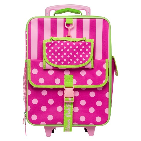 Fab NY Kids Suitcase - Pink/Green - image 1 of 1