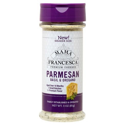 Mama Francesca Basil and Oregano Parmesan 3 oz - image 1 of 1