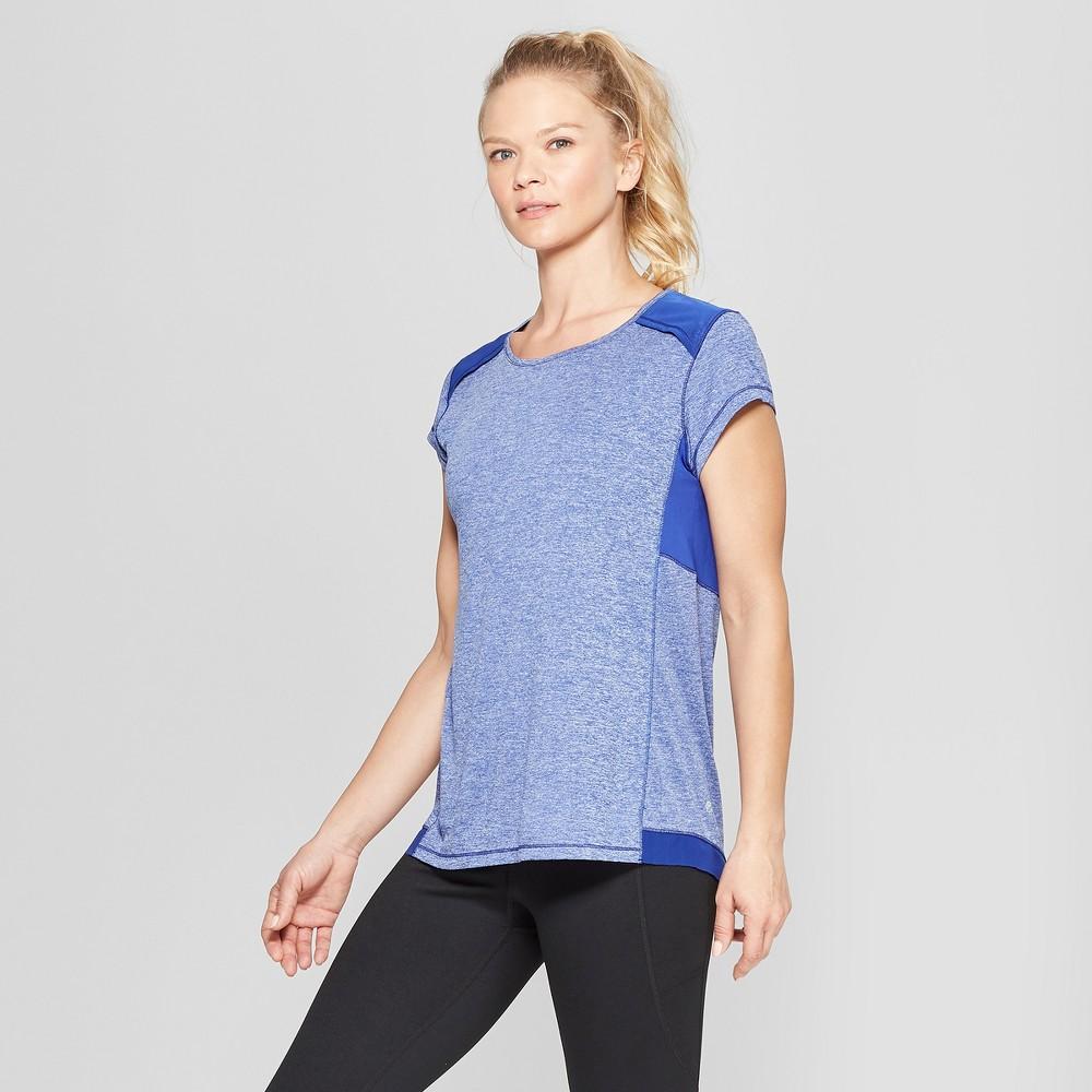 Women's Short Sleeve Run T-Shirt - C9 Champion Cobalt Blue XL