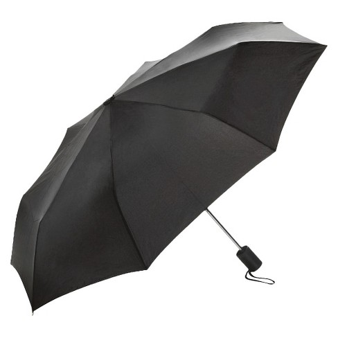 Travel Smart Umbrella Black - image 1 of 1