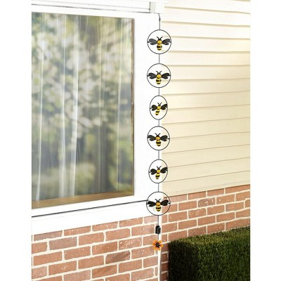 Lakeside Hanging Rain Chain with Motion Blur Effect - Outdoor Garden Accent