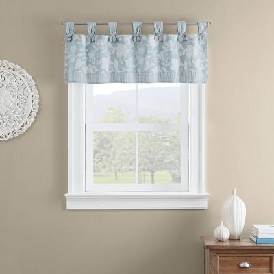 """18""""x52"""" Stencil Vine Window Valance - Waverly"""