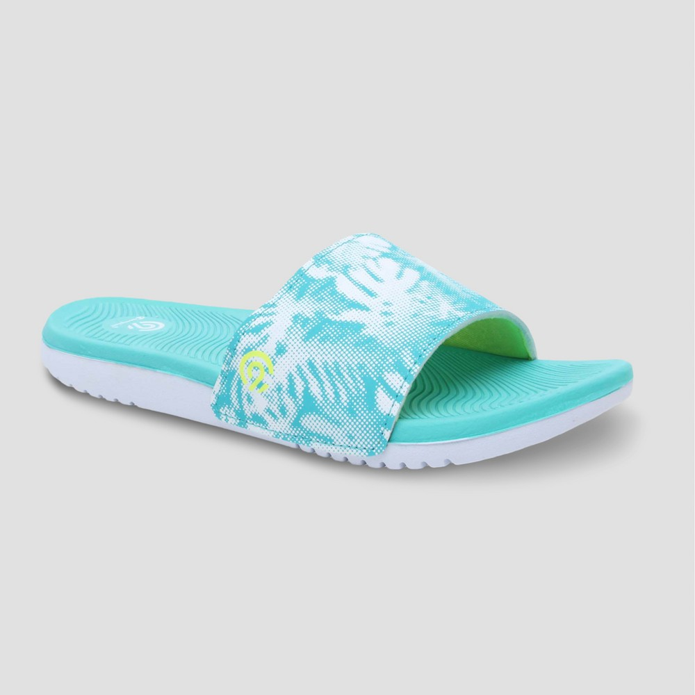 Women's Whitley Slide Sandal - C9 Champion Aqua 8, Blue