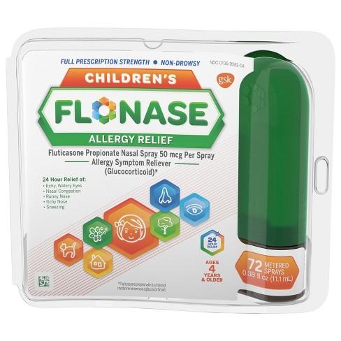 Flonase Children's Allergy Relief Nasal Spray - Fluticasone Propionate - 72 sprays - 0.38 fl oz - image 1 of 3