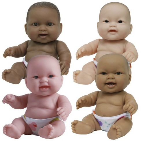 """JC Toys 10"""" Lots to Love Baby Dolls - Set of 4 - 10"""" Baby Dolls - image 1 of 4"""