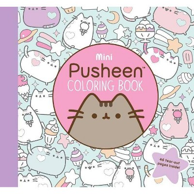 Mini Pusheen Coloring Book - (Pusheen Book) By Claire Belton (Paperback) :  Target