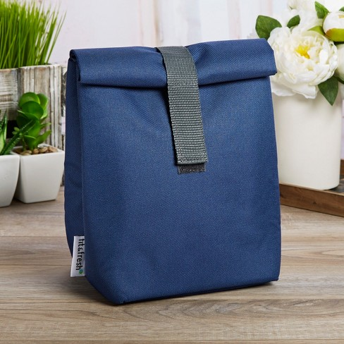 Fit & Fresh Franconia Insulated Lunch Bag - Navy Blue - image 1 of 2