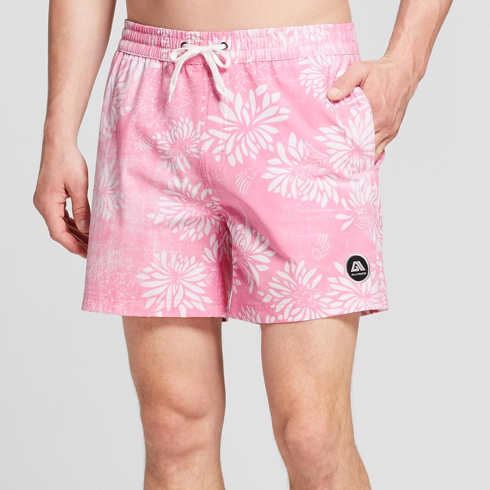 Men's 6 Riviera Swim Trunks - Allyance Fan Boy Dusty Pink M