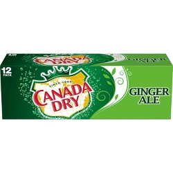Canada Dry Ginger Ale - 12pk/12 fl oz Cans