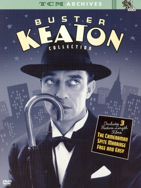 Tcm archives:Buster keaton collection (DVD) - image 1 of 1