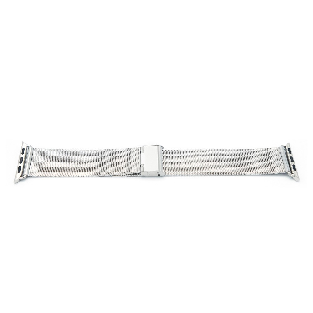 iPM Luxury Stainless Steel Tight Mesh Strap for Apple Watch 42mm - Silver