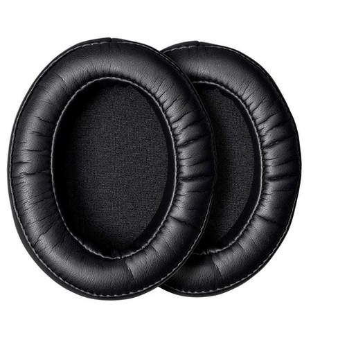 Monoprice Memory Foam Protein Leather Earpads (Pair) - Black, Maximize Comfort For Headphones - image 1 of 4