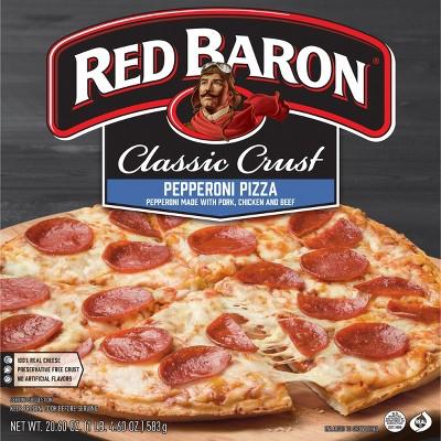 Red Baron Classic Pepperoni Frozen Pizza - 20.6oz