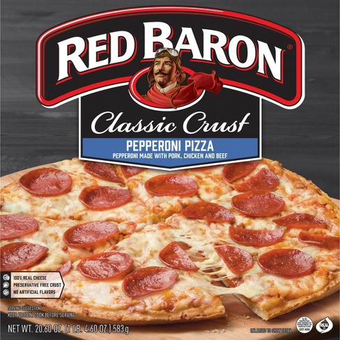 Red Baron Classic Pepperoni Frozen Pizza - 20.6oz - image 1 of 4