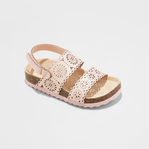 Toddler Girls' Gwenivive Footbed Sandals - Cat & Jack™ - image 1 of 3