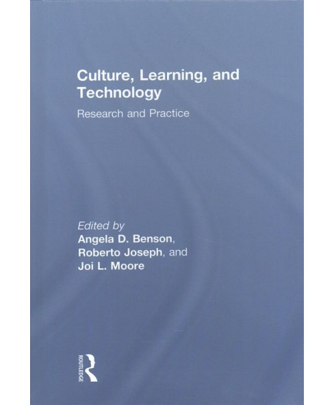 Culture, Learning and Technology : Research and Practice (Hardcover) - image 1 of 1