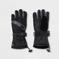 Boys' Zipper Pocket Solid Gloves - C9 Champion® Black