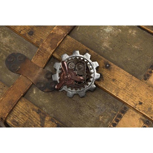 Elope Steampunk Large Gear Propeller Pin Costume Jewelry Adult - image 1 of 1