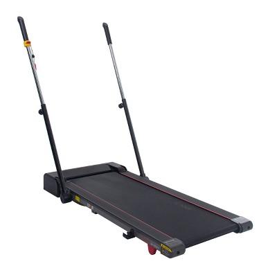 Sunny Health & Fitness Slim Folding Treadmill with Arm Exerciser