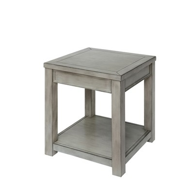Jones End Table Antique White - HOMES: Inside + Out