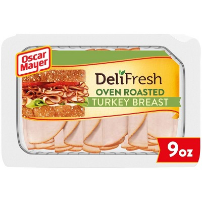 Oscar Mayer Deli Fresh Sliced Oven Roasted Turkey Breast - 9oz