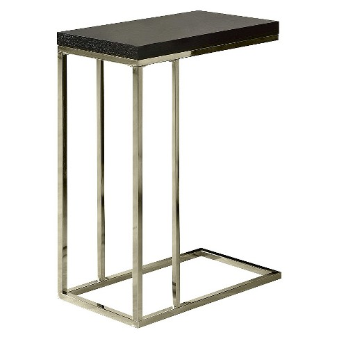 C Shape Metal Accent Table - Cappuccino - EveryRoom - image 1 of 2