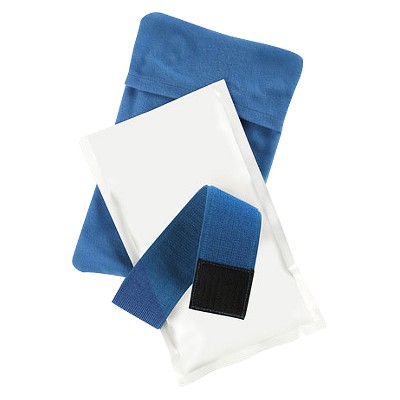 SmartTemp® Heat Pad and Cold Compress - White and Blue
