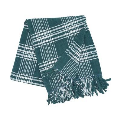 "C&F Home Essex Evergreen Woven 50"" x 60"" Throw Blanket"