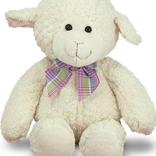 "Melissa & Doug 16"" Lovey Lamb image number null"