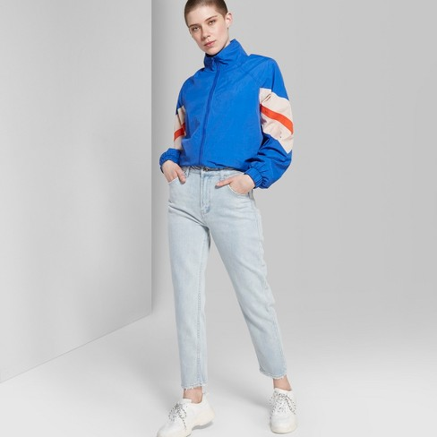 22e30d4d057c Women s High-Rise Mom Jeans - Wild Fable™ Light Blue Wash   Target