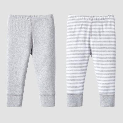 Lamaze Baby Organic 2pc Pants Set - Gray Newborn
