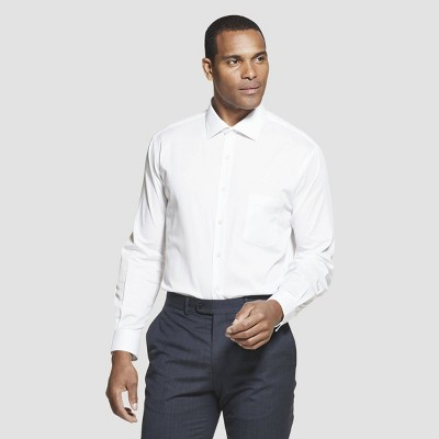 Men's Regular Fit Long Sleeve Flex Button-Down Shirt - Van Heusen