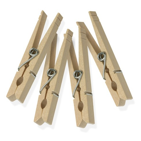 50pk Clothespins Light Brown - Room Essentials™ - image 1 of 3
