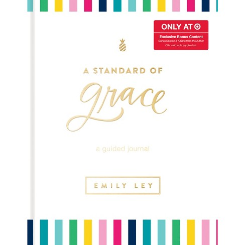 Standard of Grace Guided Journal by Emily Ley (Hardcover) - Target Exclusive Edition - image 1 of 1