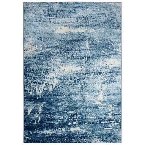 Encore Abstract Polypropylene Area Rug - Rizzy Home - image 1 of 4