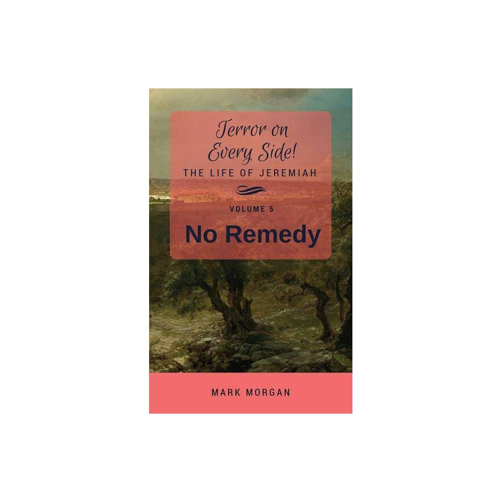 No Remedy Terror On Every Side By Mark Timothy Morgan Paperback