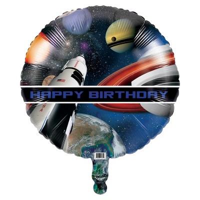 Space Blast Mylar Balloon