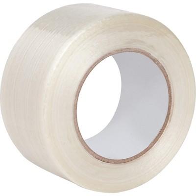 "Business Source Filament Tape 180 lb Tensile 3"" Core 2""x60 Yards 64006"