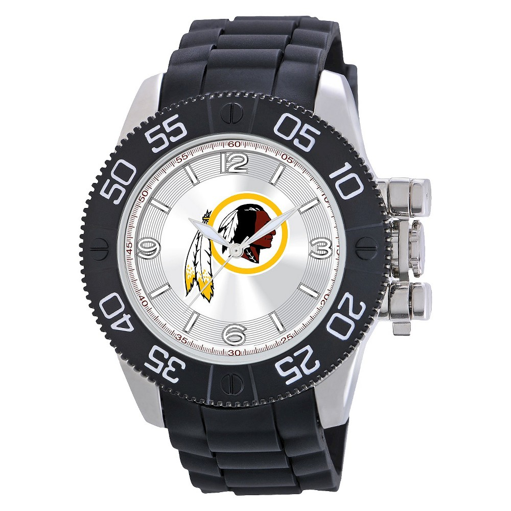 Men's Game Time Washington Redskins Beast Series Watch - Black, Wahington Redskins