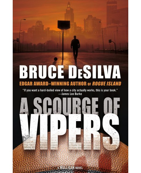 Scourge of Vipers -  Reprint (Liam Mulligan) by Bruce DeSilva (Paperback) - image 1 of 1