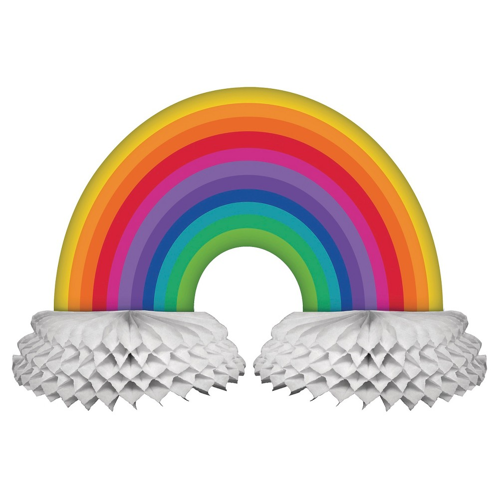 Rainbow Centerpiece, Party Decorations and Accessories